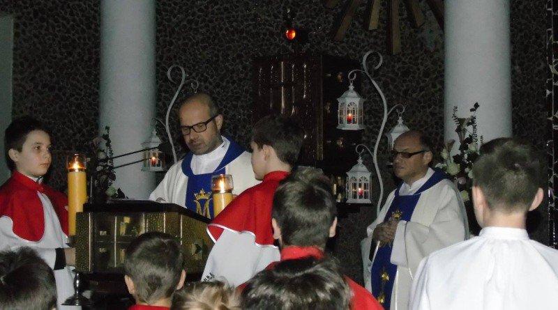 Niezwykłe roraty w kościele pw. śś Cyryla i Metodego
