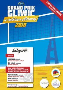Gliwice: Grand Prix Gliwic w Siatkówce Plażowej 2018 @ Gliwice | śląskie | Polska