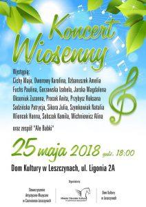 Czerwionka-Leszczyny: Koncert Wiosenny w Domu Kultury w Leszczynach @ Czerwionka-Leszczyny | śląskie | Polska