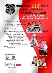 Czerwionka-Leszczyny: Jubileusz 115 lecia pożarnictwa w Książenicach @ Książenice | śląskie | Polska