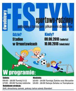 Ornontowice: Sportowy Festyn 2018 @ Ornontowice | śląskie | Polska