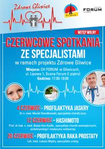 Forum Gliwice: Bezpłatne spotkania zdrowotne ze specjalistami (Hashimoto) @ Gliwice | śląskie | Polska