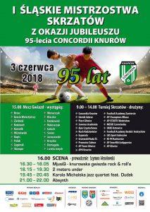 Knurów: I Śląskie Mistrzostwa Skrzatów z okazji jubileuszu 95-lecia Concordii Knurów @ Knurów | śląskie | Polska