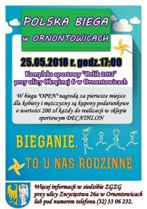 "Ornontowice: ""Polska Biega w Ornontowicach"" – 25 maja @ Ornontowice | śląskie | Polska"