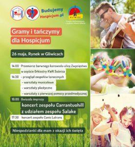 Gliwice: Gramy i tańczmy dla Hospicjum @ Gliwice | śląskie | Polska