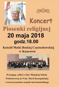Knurów: Koncert Piosenki religijnej @ Knurów | śląskie | Polska