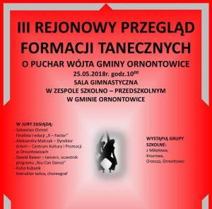 Ornontowice: IX edycja Przeglądu Formacji Tanecznych o Puchar Wójta Gminy Ornontowice @ Ornontowice | śląskie | Polska
