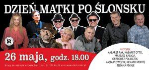 Dom Muzyki i Tańca w Zabrzu: Dzień Matki po ślonsku @ Zabrze | śląskie | Polska
