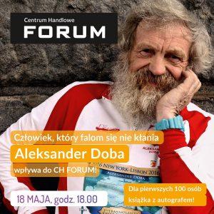 Forum Gliwice: Spotkanie z podróżnikiem, kajakarzem - Aleksandrem Dobą @ Gliwice | śląskie | Polska