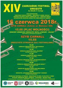 Zabrze: XIII Zabrzański Festiwal Orkiestr Dętych im. Edwarda E. Czernego