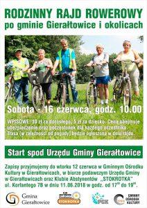 Gierałtowice: Rodzinny  Rajd Rowerowy @ Gierałtowice | śląskie | Polska