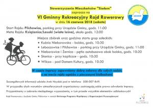 Pilchowice: VI Gminny Rekreacyjny Rajd Rowerowy @ Pilchowice | śląskie | Polska