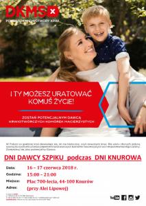 Knurów: Rejestracja Potencjalnych Dawców Szpiku i Komórek Macierzystych podczas Dni Knurowa @ Knurów | śląskie | Polska