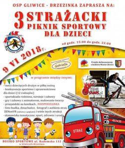 OSP KSRG Gliwice-Brzezinka: III Strażacki Piknik Sportowy dla Dzieci @ Gliwice | śląskie | Polska