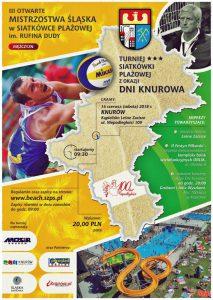 MOSiR Knurów: Turniej III Otwartych Mistrzostw Śląska w Siatkówce Plażowej Mężczyzn @ Knurów | śląskie | Polska