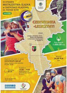 MOSiR Czerwionka-Leszczyny: III Otwarte Mistrzostwa Śląska w Siatkówce Plażowej @ Czerwionka-Leszczyny | śląskie | Polska