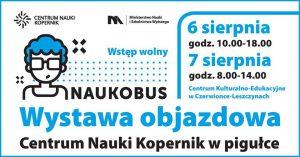 CKE Czerwionka-Leszczyny: Naukobus – wystawa objazdowa @ Czerwionka-Leszczyny | śląskie | Polska