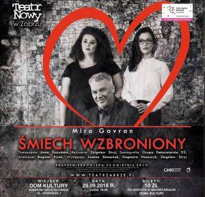 Dom Kultury Knurów-Szczygłowice: Śmiech wzbroniony - spektakl teatralny Teatr Nowy w Zabrzu @ Knurów | śląskie | Polska