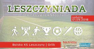 Czerwionka-Leszczyny: Leszczyniada - dzielnicowy dzień sportu @ Czerwionka-Leszczyny | śląskie | Polska