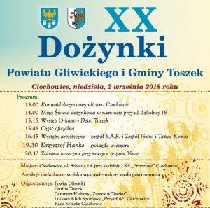 Ciochowice: XX Dożynki Powiatu Gliwickiego i Gminy Toszek @ Ciochowice | śląskie | Polska