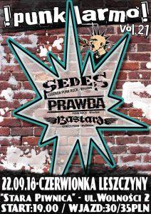 Czerwionka-Leszczyny:  !punk larmo! vol.21 - Stara Piwnica @ Czerwionka-Leszczyny | śląskie | Polska