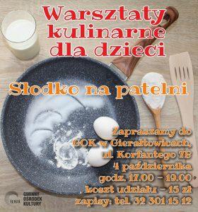 GOK Gierałtowice: Warsztaty kulinarne dla dzieci @ Gierałtowice | śląskie | Polska