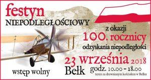 Czerwionka-Leszczyny: Festyn Niepodległościowy z okazji 100. rocznicy odzyskania niepodległości w Bełku @ Bełk | śląskie | Polska
