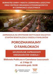 """Czerwionka-Leszczyny: Spotkanie """"Porozmawiajmy o Familokach"""" @ Polska"""