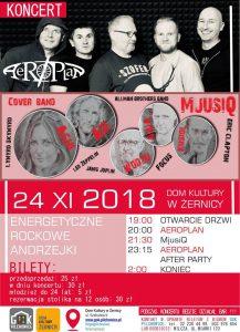 DK Żernica: Koncert Aeroplanu @ Żernica | śląskie | Polska