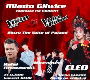"Arena Gliwice: Koncert ""Bitwy The Voice of Poland @ Gliwice | śląskie | Polska"