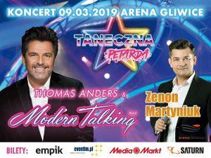 Arena Gliwice: Zenon Martyniuk i Thomas Anders & Modern Talking Band na Dzień Kobiet @ Gliwice | śląskie | Polska