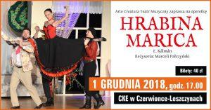 CKE Czerwionka-Leszczyny: Hrabina Marica – operetka @ Czerwionka-Leszczyny | śląskie | Polska