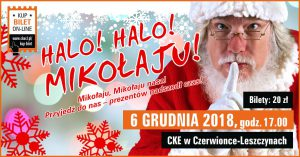 CKE Czerwionka-Leszczyny: Czerwionka-Leszczyny: Halo! Halo! Mikołaju! @ Czerwionka-Leszczyny | śląskie | Polska