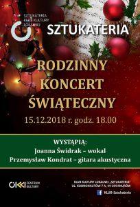 Knurów: Rodzinny koncert świąteczny w Sztukaterii @ Knurów | śląskie | Polska