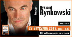 CKE Czerwionka-Leszczyny: Ryszard Rynkowski - koncert