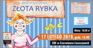 CKE Czerwionka-Leszczyny: Złota Rybka - spektakl dla dzieci