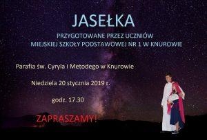 Parafia św. Cyryla i Metodego w Knurowie: Przedstawienie Jasełkowe MSP 1