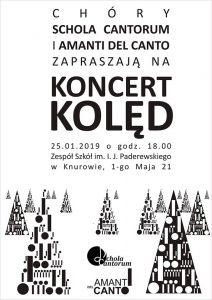 Knurów: Koncert Chórów Schola Cantorum i Amanti Del Canto