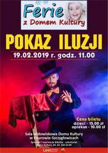 Dom Kultury Knurów-Szczygłowice: Pokaz iluzji