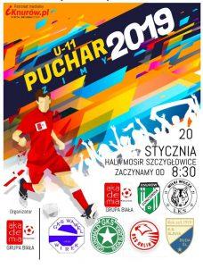 APN Knurów: Turniej piłkarski U-11 o Puchar Zimy 2019