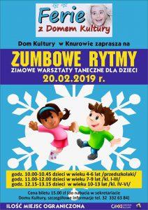 Dom Kultury Knurów-Szczygłowice: Zumbowe rytmy