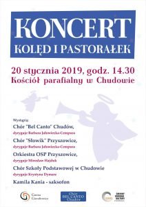 Gierałtowice: Koncert kolęd i pastorałek