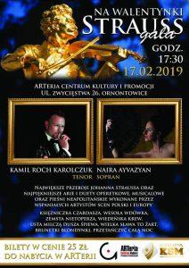 Arteria Ornontowice: Walentynkowa Strauss Gala