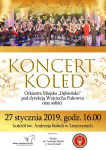 """Czerwionka-Leszczyny: Koncert Kolęd Orkiestry Miejskiej """"Dębieńsko"""""""