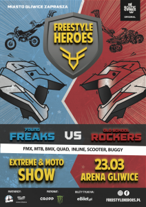Arena Gliwice: FREESTYLE HEROES – EXTREME & MOTO SHOW