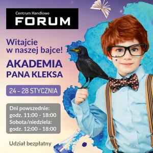 CH Forum Gliwice: AKADEMIA PANA KLEKSA