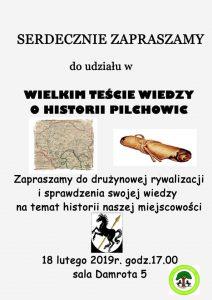 GOK Pilchowice: Wielki Test Wiedzy o Historii Pilchowic