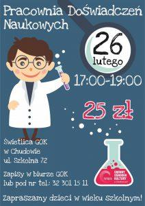 Gierałtowice: Warsztaty w Pracowni Doświadczeń Naukowych – kuchnia molekularna 2.
