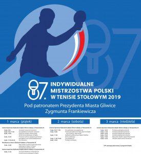 Mistrzostwa Polski w ping-pongu wracają do Gliwic