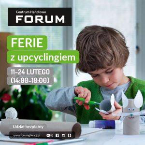 CH Forum Gliwice: Ferie z upcyclingiem